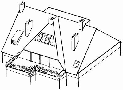 мансарда двухэтажная фото