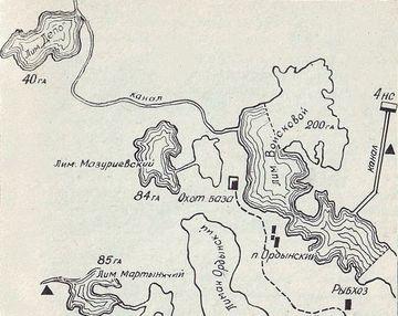 схема реки понура в краснодаре