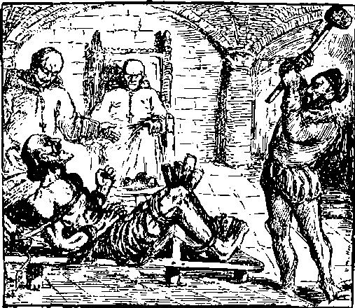 Инквизиция в средние века пытка
