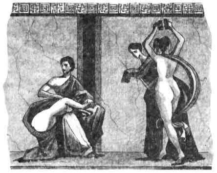 Секс в древнем риме гравюры изображения оргии