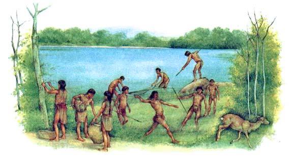 древний способ рыбалки