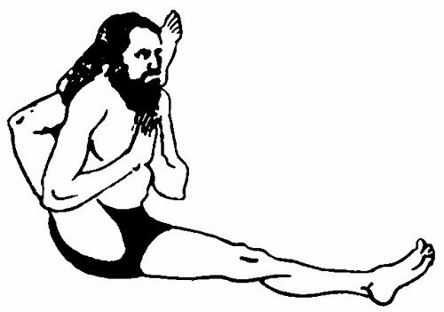 ноги связанные за головой